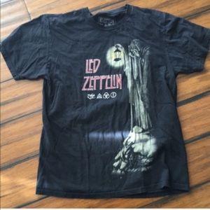 Original Led Zeppelin band tee size large